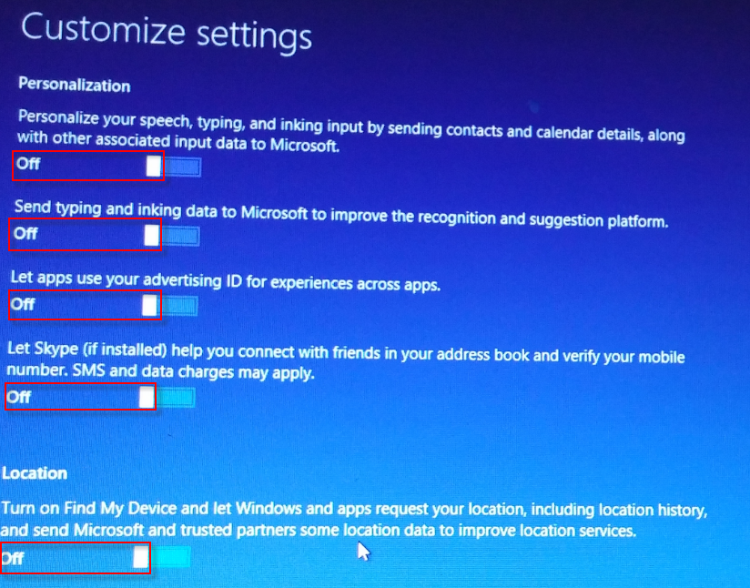 w10-2 personalization and location