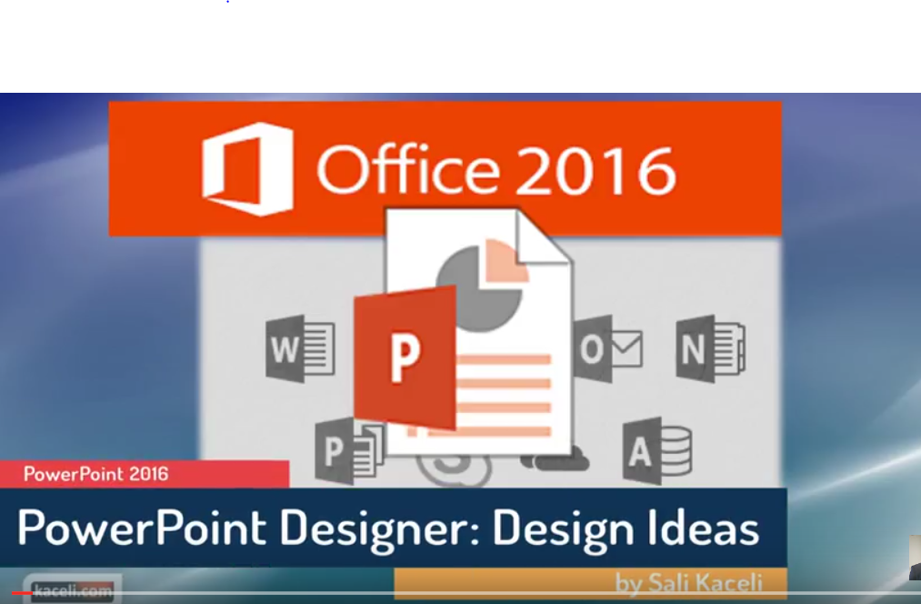 using the design ideas feature in powerpoint 2016 kaceli com