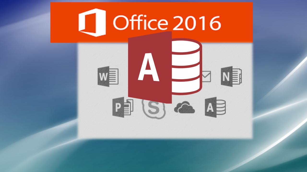 Microsoft Access 2016 Tutorial: Creating Professional